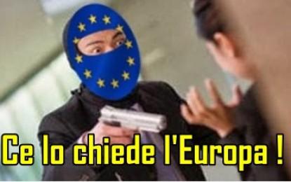 """A chi professa """"ce lo chiede l'Europa"""", rispondo """"ce lo chiede l'Italia"""""""