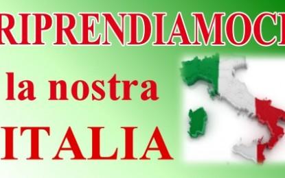 Armando Manocchia: riprendiamoci la nostra Italia